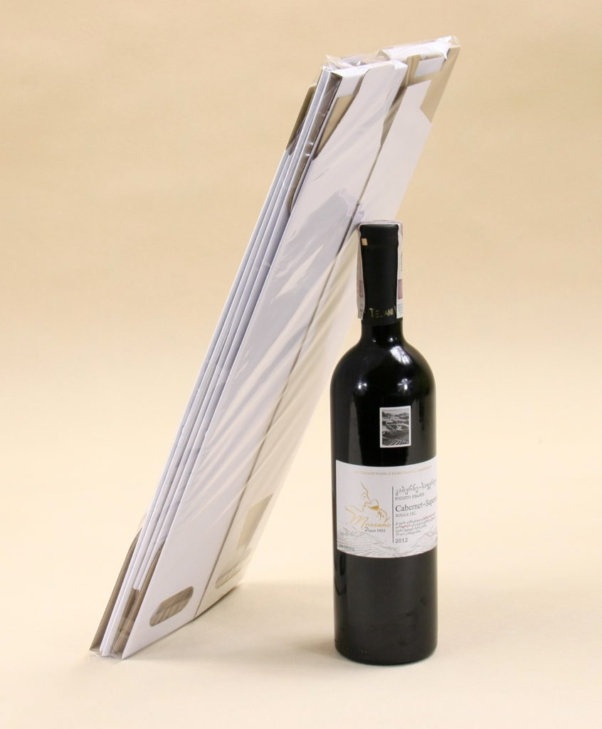 pudełko do wina typu wstążka