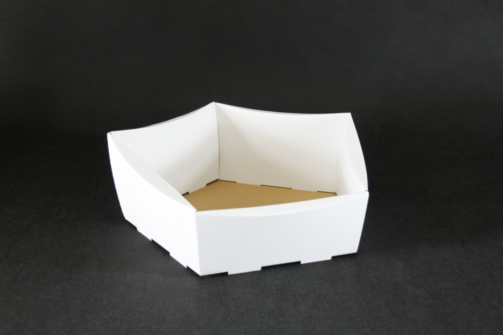 kosze prezentowe białe