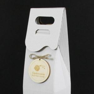 opakowanie na wino z logo