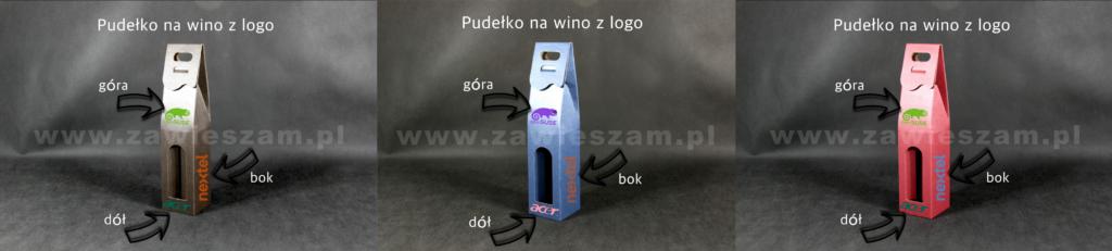 pudełko kaszerowane z logo