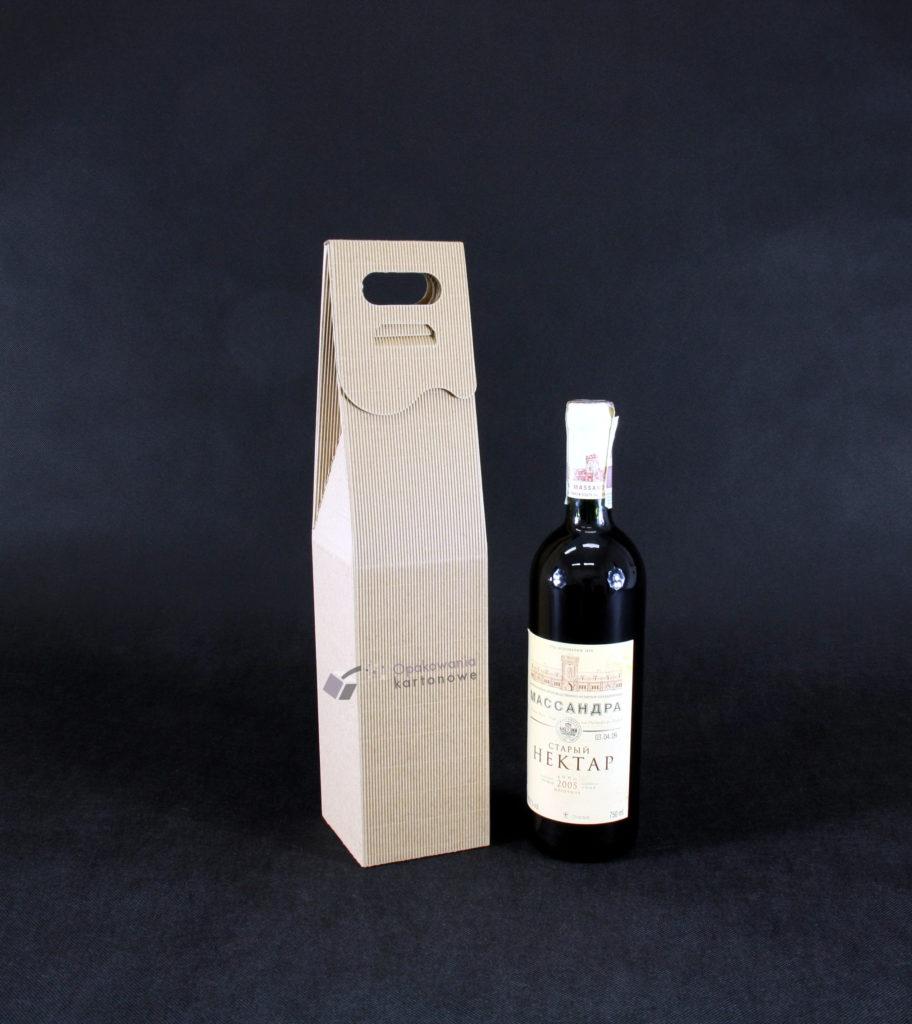 pudełko na wino z kartonu