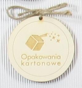 zawieszka z logo