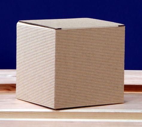 kartonik pudełko na kubek szare eko