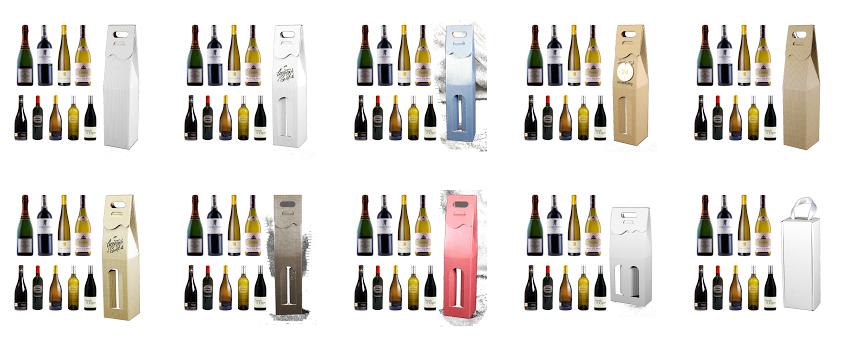 pudełka na alkohole