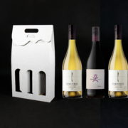 pudełko na trzy butelki wina