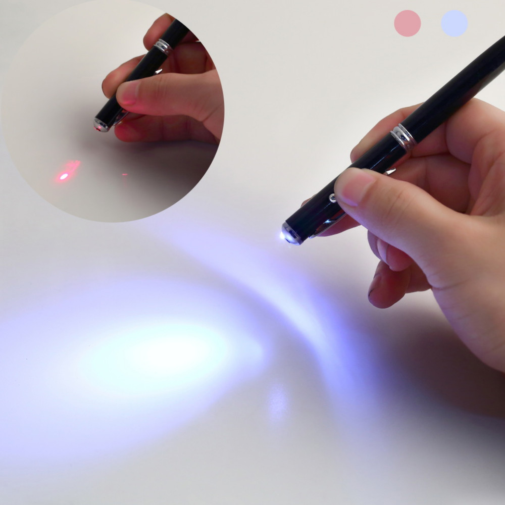 touch pen z latarką led