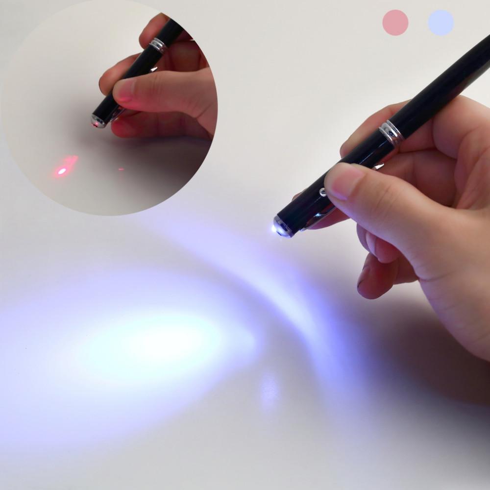 touch pen z latarką led