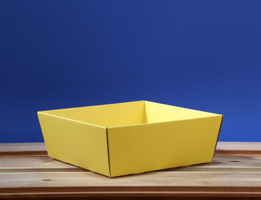 Koszyk 25x25 żółty