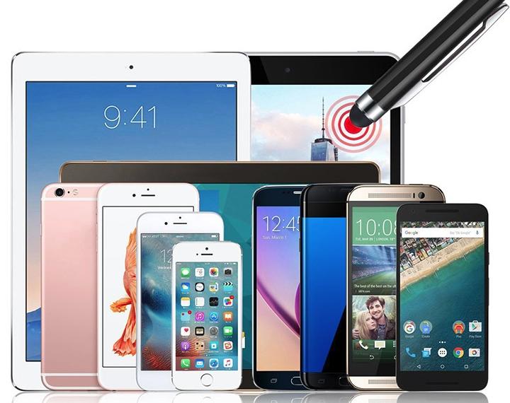 rysik długopis pojemnościowy dla iPhone 6 6s 5s 5 4s, iPad 2 3