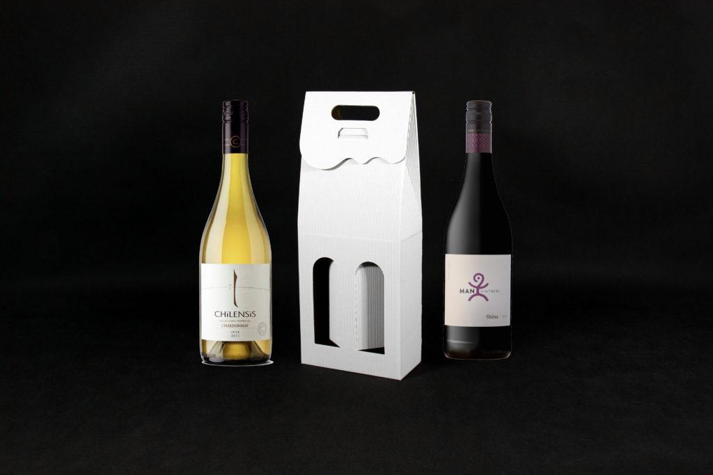 pudełko na dwie butelki wina producent