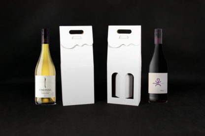 pudełko na dwie butelki wina