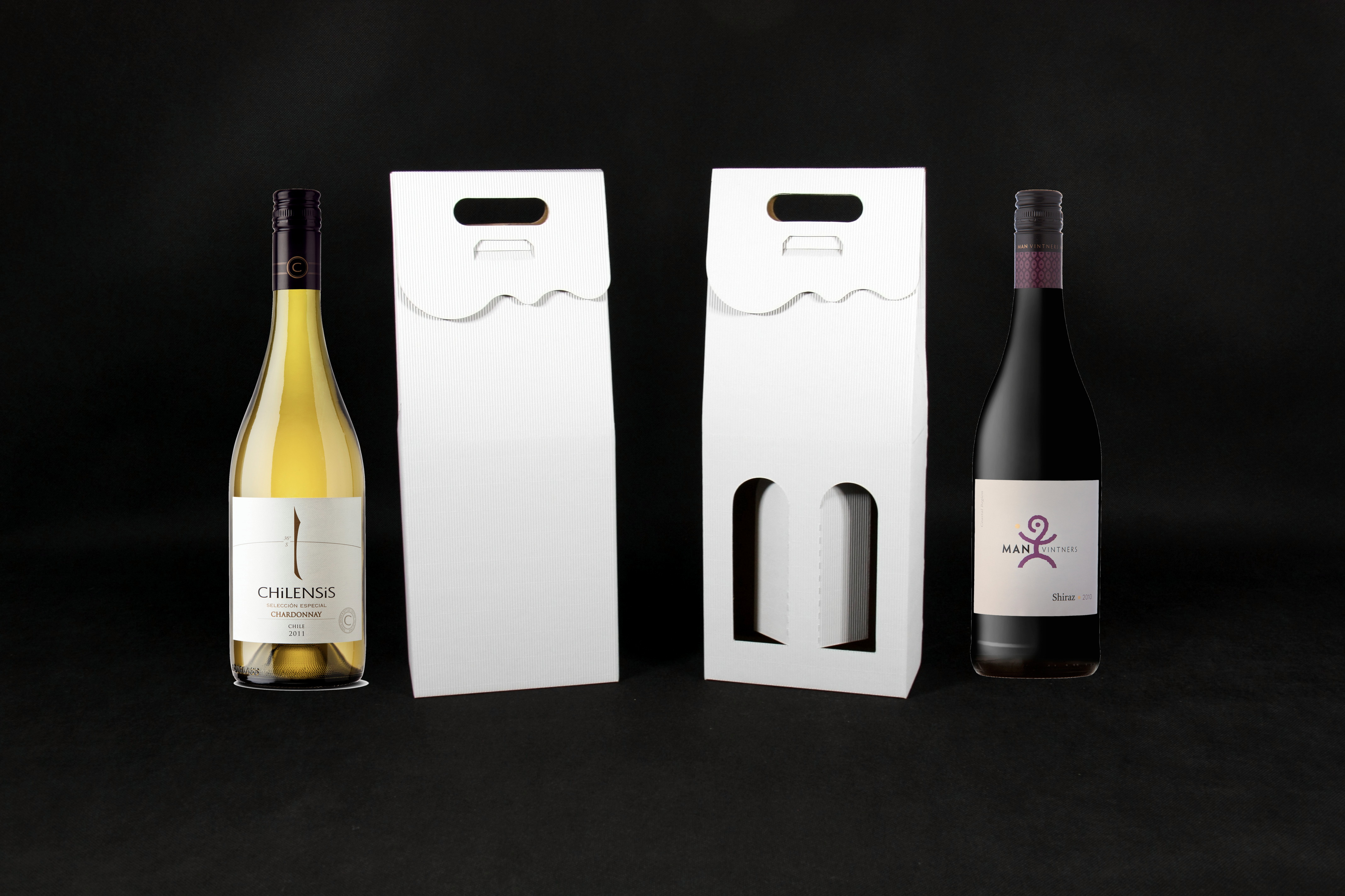 pudełko na dwa wina