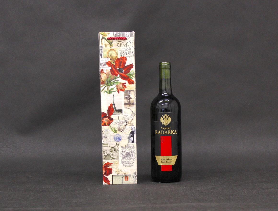 opakowanie torebka na butelkę wina