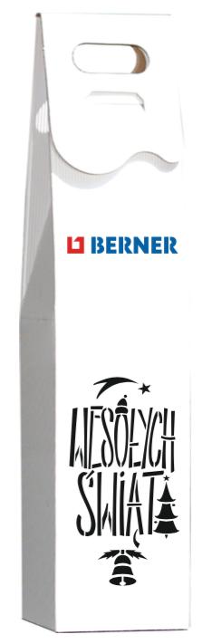 opakowanie na wino kolorowe logo