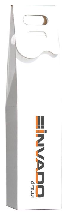 pudełko na wino kolorowe logo