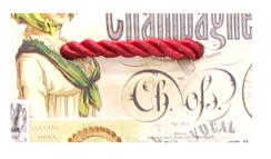 torebka tekturowa na wino sznurek