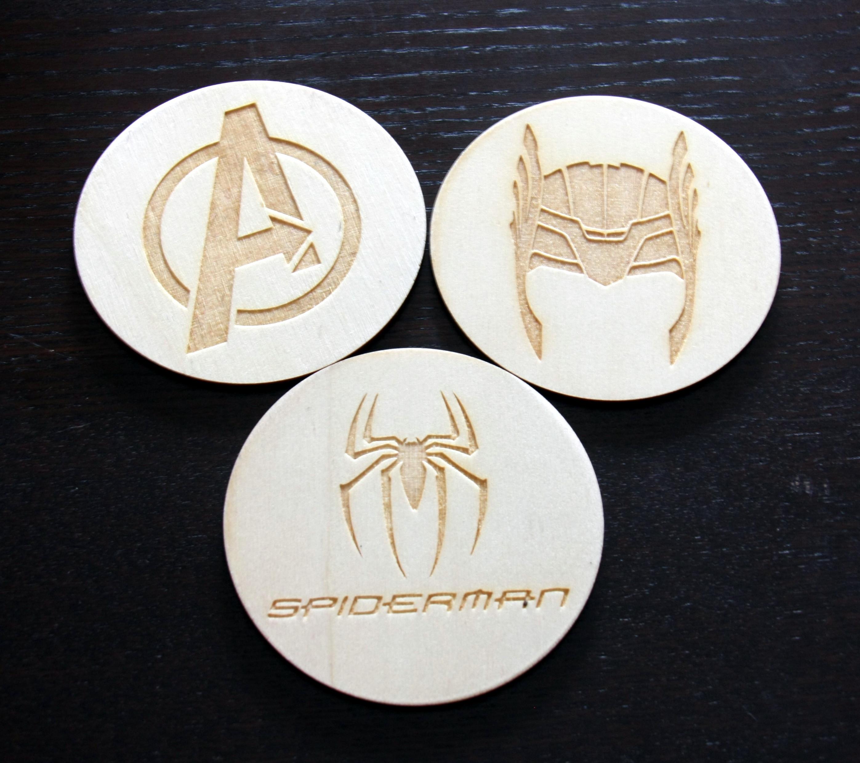 elementy decoupage Avengers