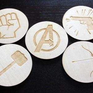 superbohaterowie elementy do ozdabiania