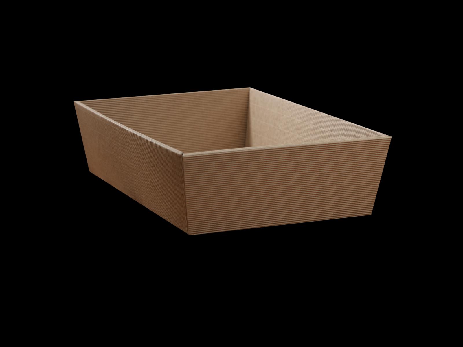 Cardboard Gift Basket 24x34cm