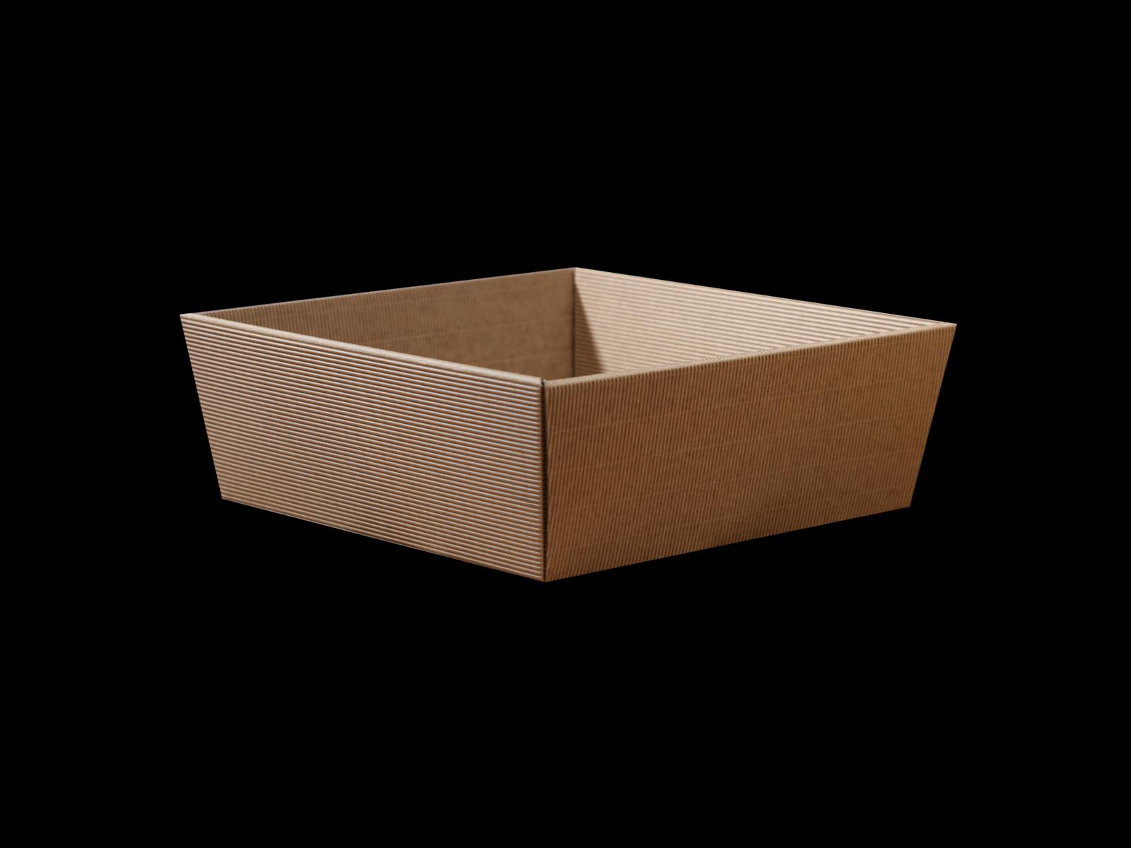 Cardboard Gift Basket 25x25cm