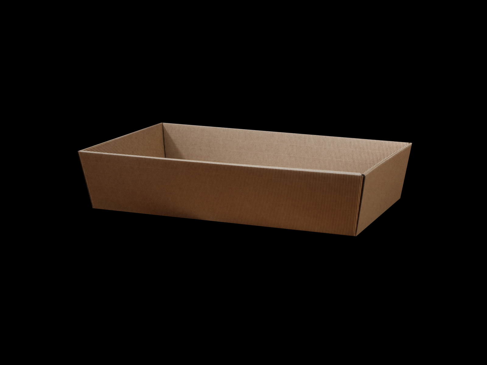 Cardboard Gift Basket 25x46cm