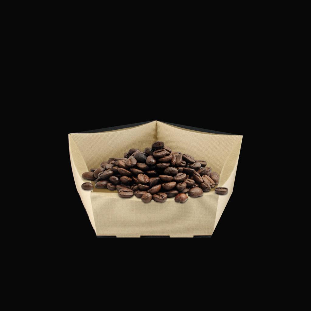 koszyk na prezenty z kawą