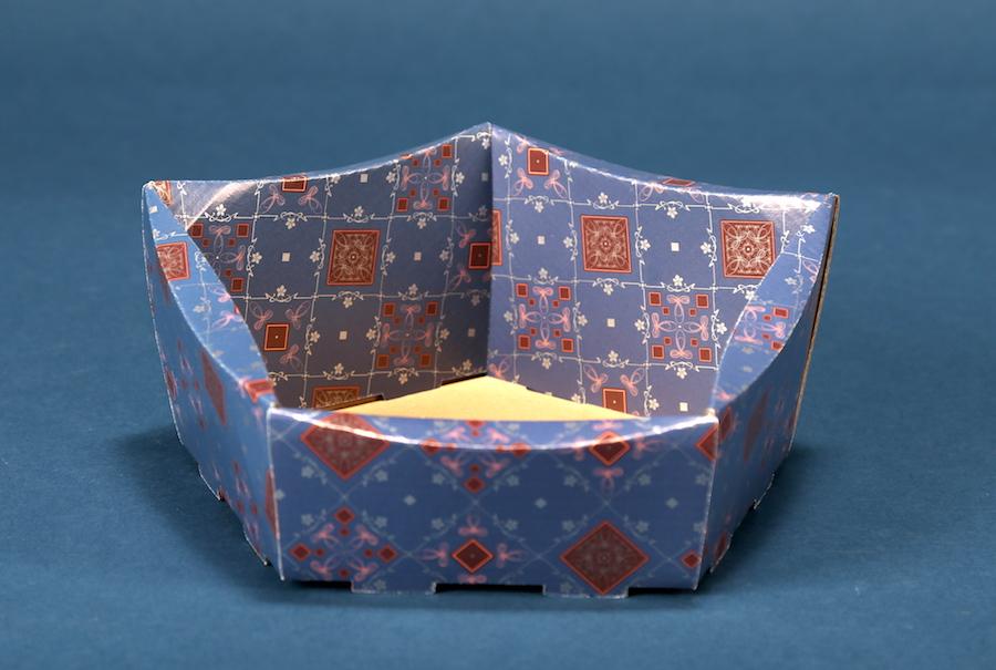 Kosz prezentowy ogólny 29x30, wzór 1
