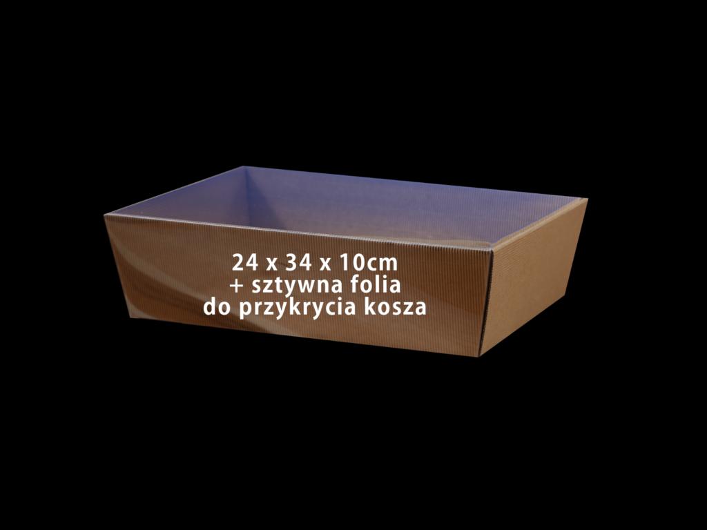 koszyk na prezenty kosz2434folia