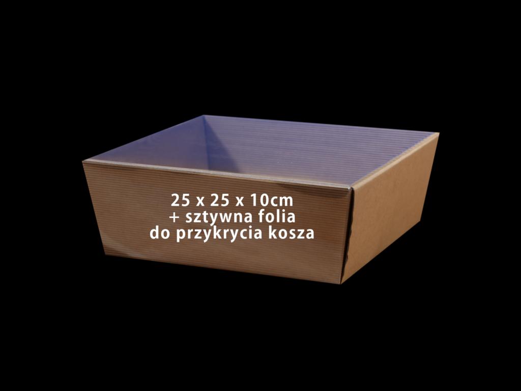 koszyk na prezenty kosz2525folia