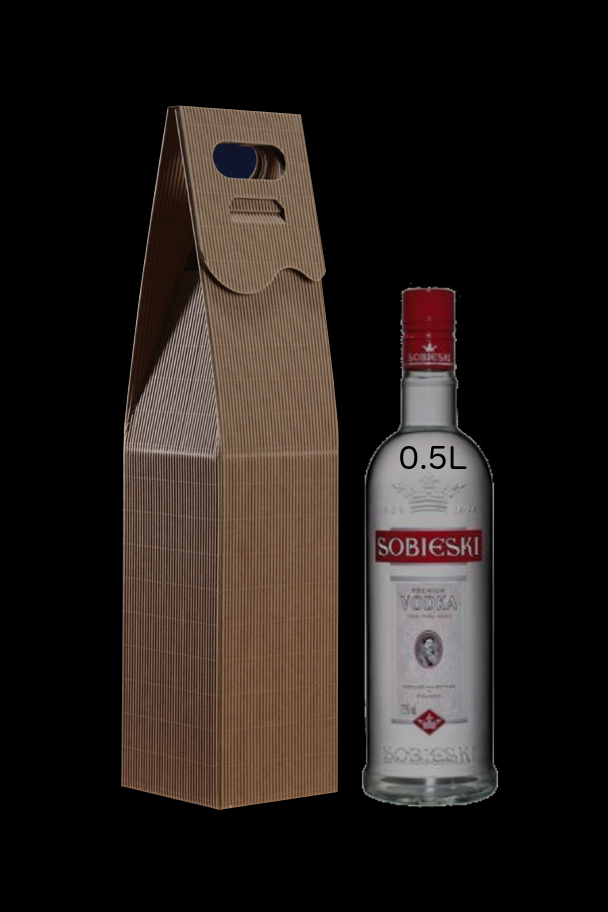 opakowanie kartonowe na butelkę 0.5L