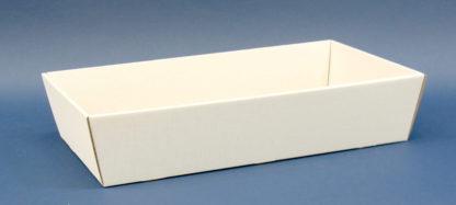 kosz prezentowy biały 25x46cm