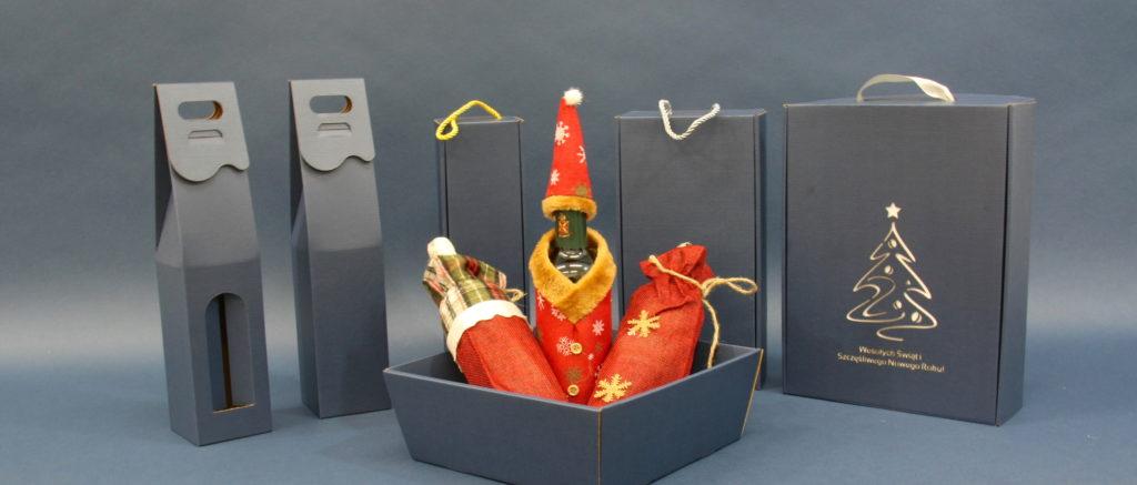pudełka na boże narodzenie