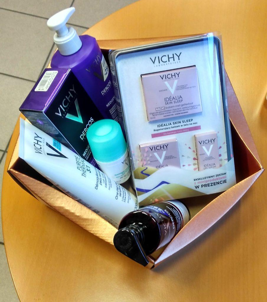 kosz prezentowy Vichy