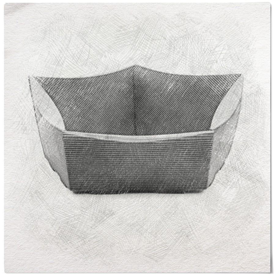 naturalne eco koszyki prezentowe kartonowe