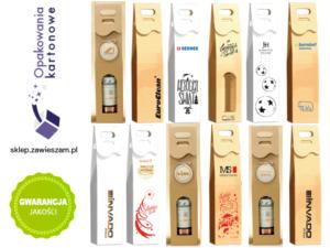 personalizowane pudełko z logo firmy