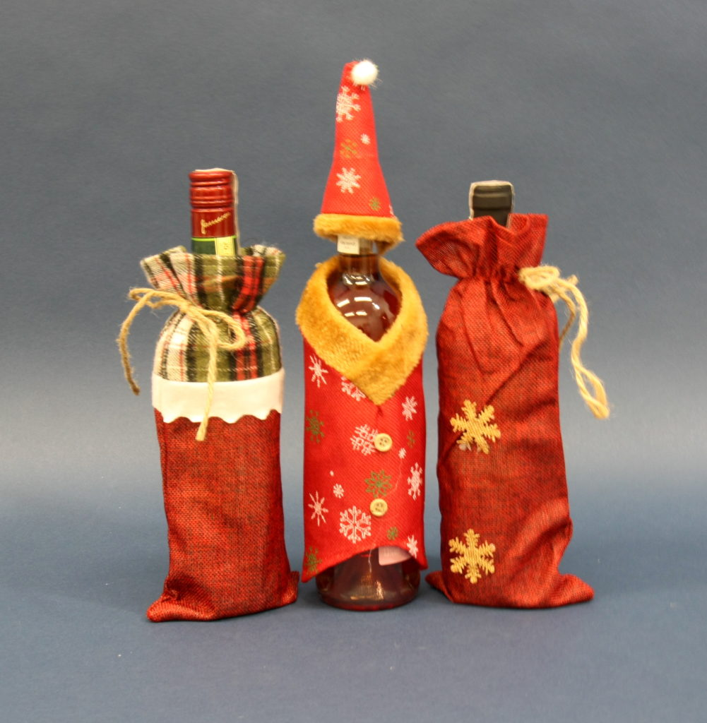 Bardzo dobra dekoracje na butelki z alkoholem   Opakowania i pudełka FB85