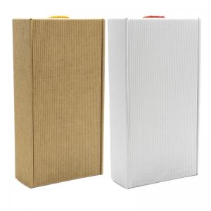 pudełko prezentowe eco białe W24