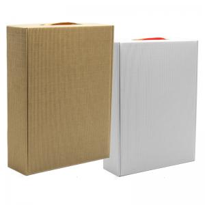 pudełko na prezenty eco białe W26