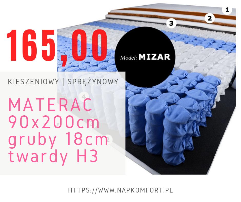 materac 90x200 h3