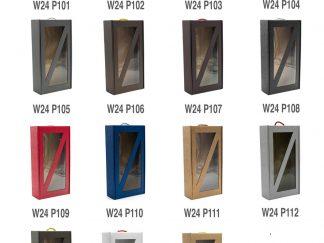 Pudełko prezentowe z okienkiem W24