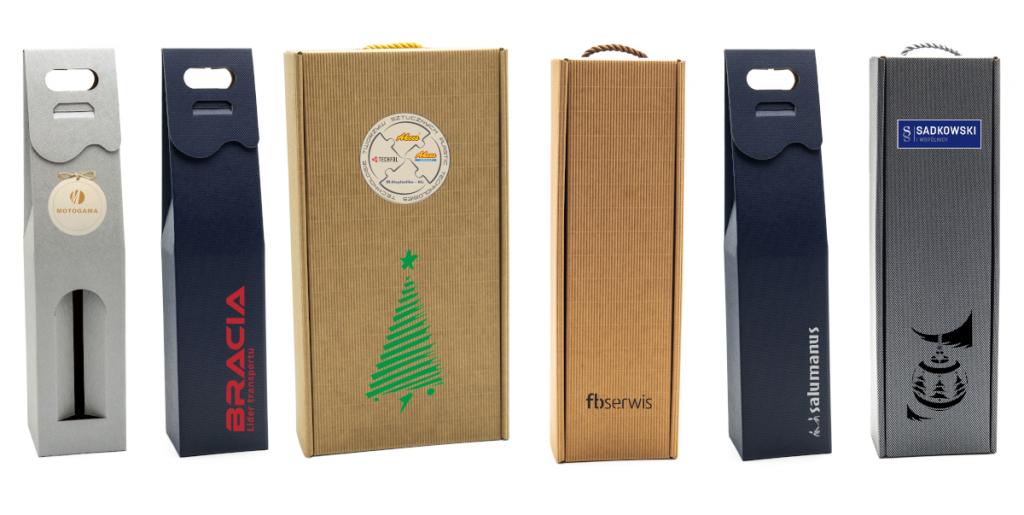 pudełka prezentowe z logo