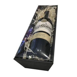 pudełko na wino z wieczkiem